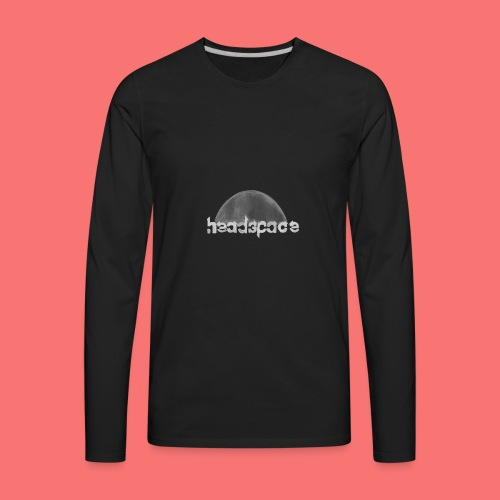 headspace logo - Men's Premium Long Sleeve T-Shirt