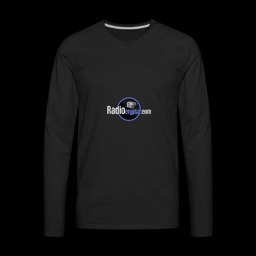 RadioCrypto Logo 1 - Men's Premium Long Sleeve T-Shirt