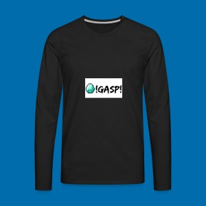 Diamond Gasp! - Men's Premium Long Sleeve T-Shirt