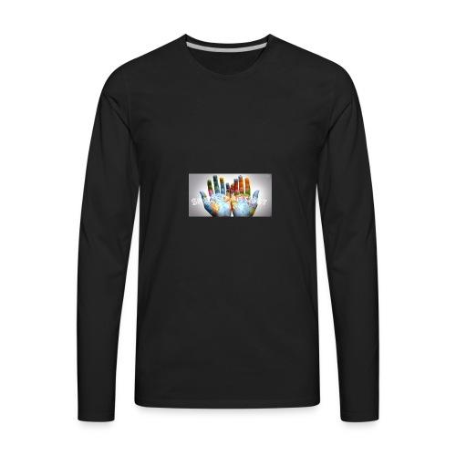 Spread Art Not Hate - Men's Premium Long Sleeve T-Shirt