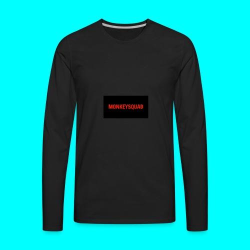 MonkeySquad logo - Men's Premium Long Sleeve T-Shirt