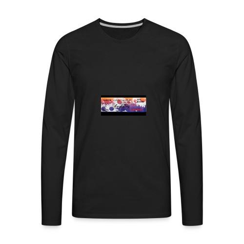 Channel_Art_Template_-Fireworks-_-_Edited - Men's Premium Long Sleeve T-Shirt