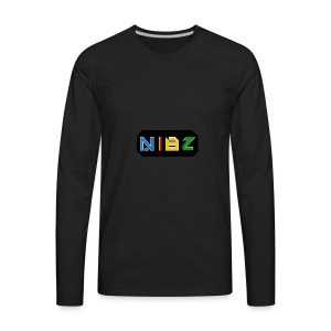 NibZcolorfuldesignlogo - Men's Premium Long Sleeve T-Shirt