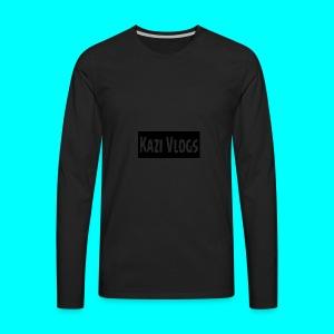 Kazi Vlogs - Men's Premium Long Sleeve T-Shirt