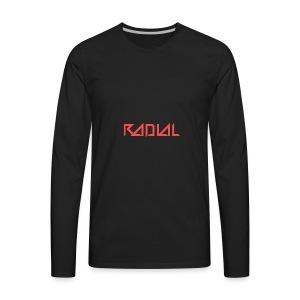 Radial_Shirt_Logo2 - Men's Premium Long Sleeve T-Shirt