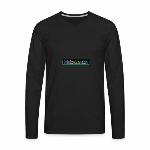 Bink Nation Neon Logo Jacket - Men's Premium Long Sleeve T-Shirt