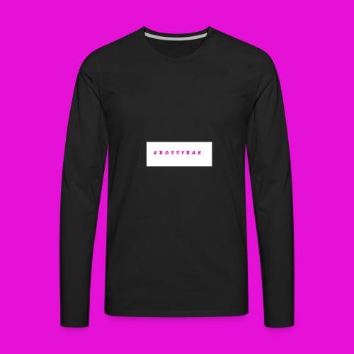 BOSSYBAE GEAR - Men's Premium Long Sleeve T-Shirt