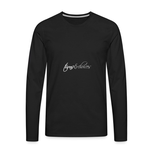Turns & Choices - Men's Premium Long Sleeve T-Shirt
