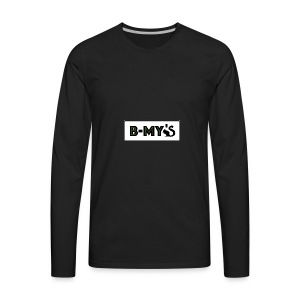 B-My's Logo - Men's Premium Long Sleeve T-Shirt