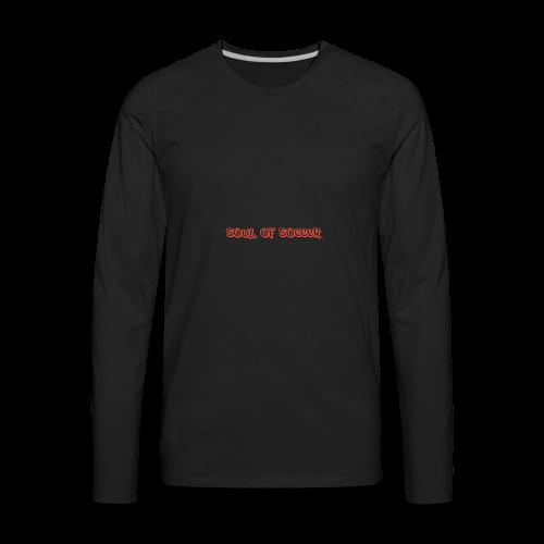 soulofsoccer nature - Men's Premium Long Sleeve T-Shirt