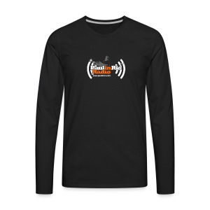 Paul in Rio Radio - Thumbs-up Corcovado #1 - Men's Premium Long Sleeve T-Shirt