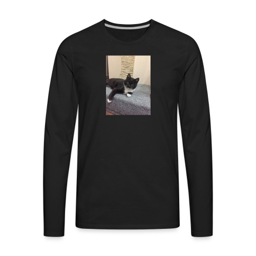 Oreo cat merch - Men's Premium Long Sleeve T-Shirt