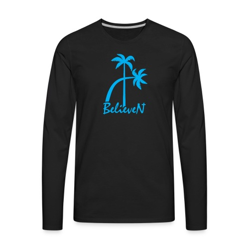 BelieveN blue - Men's Premium Long Sleeve T-Shirt