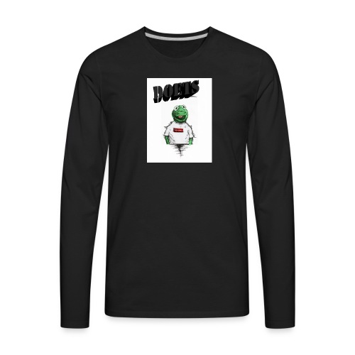 Mens_Merch(Size) - Men's Premium Long Sleeve T-Shirt