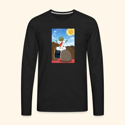 PepeJesus - Men's Premium Long Sleeve T-Shirt
