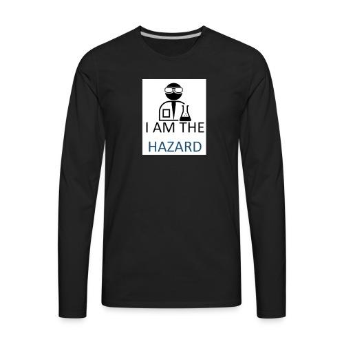 tshirt hazard design1 1 - Men's Premium Long Sleeve T-Shirt