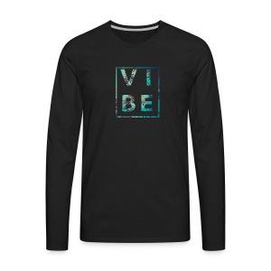 Palm Tree Vibe - Men's Premium Long Sleeve T-Shirt