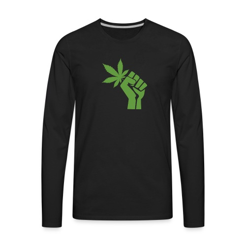 Free Weed - Men's Premium Long Sleeve T-Shirt