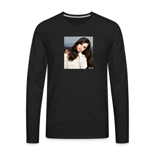 Sofia Carson - Men's Premium Long Sleeve T-Shirt