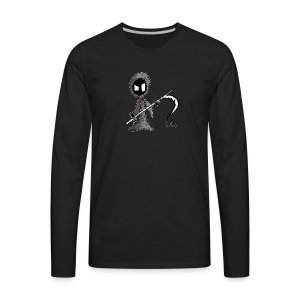 Mr. Grim Edgy - Men's Premium Long Sleeve T-Shirt