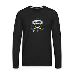 Wax On! Neon - Men's Premium Long Sleeve T-Shirt