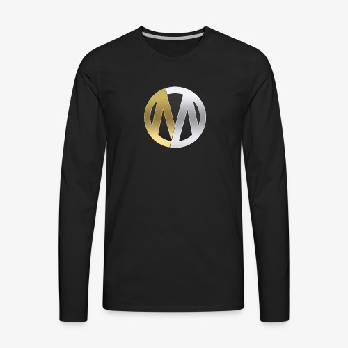 MineOps Logo - Men's Premium Long Sleeve T-Shirt