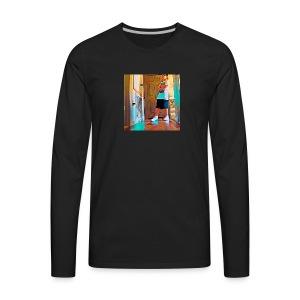 TheDabMaster21 - Men's Premium Long Sleeve T-Shirt