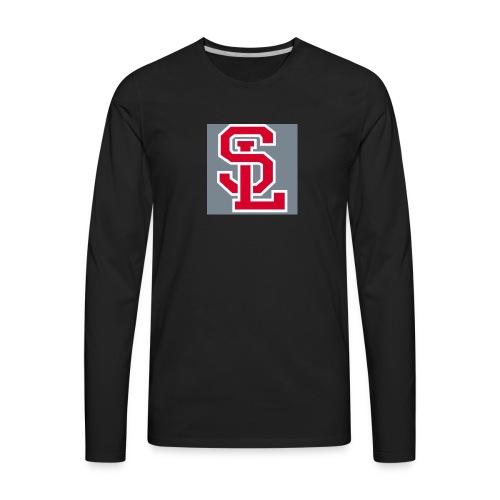 My name initials - Men's Premium Long Sleeve T-Shirt