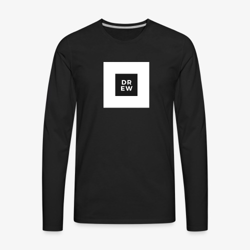 Official Drew Vlogs Merchandise - Men's Premium Long Sleeve T-Shirt