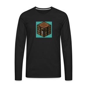 TheCrafters Logo - Men's Premium Long Sleeve T-Shirt