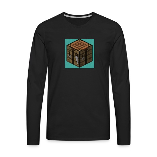 TheCrafters Logo - Men's Premium Long Sleeve T-Shirt
