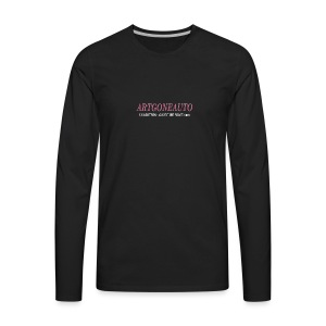 Classically Pink ARTGONEAUTO - Men's Premium Long Sleeve T-Shirt