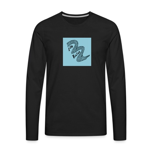 no rules - Men's Premium Long Sleeve T-Shirt