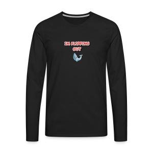 Flip out! - Men's Premium Long Sleeve T-Shirt