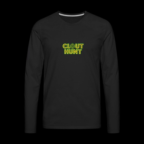 Clout Hunt - Men's Premium Long Sleeve T-Shirt