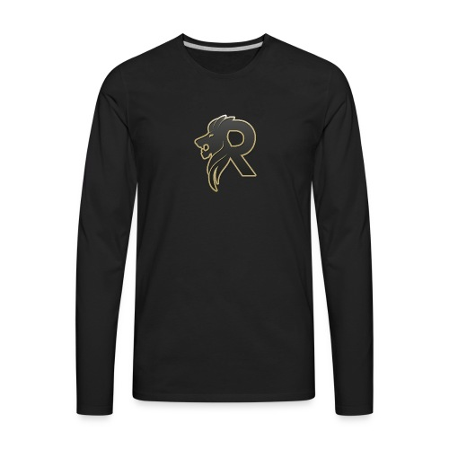 rubzys Merch logo - Men's Premium Long Sleeve T-Shirt