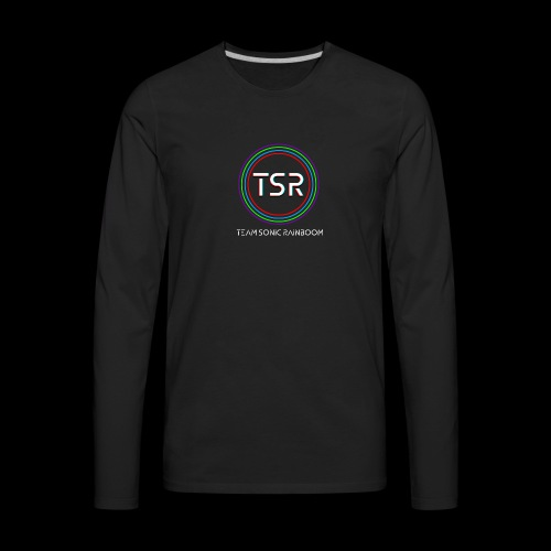 Team Sonic Rainboom Logo + Name - Men's Premium Long Sleeve T-Shirt