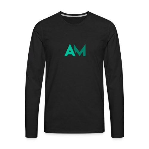 André Mergulhão Logo - Men's Premium Long Sleeve T-Shirt