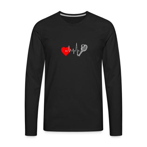 I love Tennis - Men's Premium Long Sleeve T-Shirt