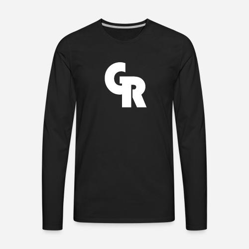 Official Gav Rod Logo - Men's Premium Long Sleeve T-Shirt