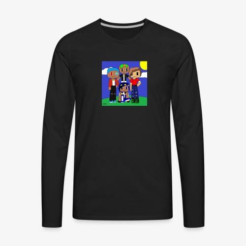 LittleDustinG Design 1 - Men's Premium Long Sleeve T-Shirt