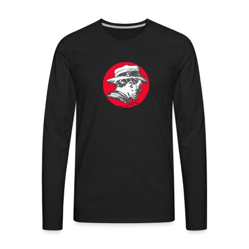 Mr. Pulp - the Black Collection - Men's Premium Long Sleeve T-Shirt