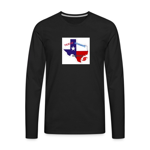 Hurricane Harvey Help - Men's Premium Long Sleeve T-Shirt