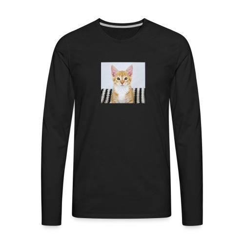 #ACatNamedJordan - Men's Premium Long Sleeve T-Shirt