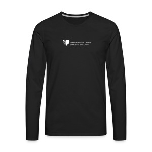 Northern Ontario Families of Children with Cancer - Men's Premium Long Sleeve T-Shirt