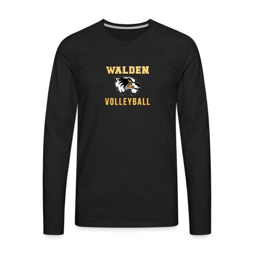 Walden Volleyball - Men's Premium Long Sleeve T-Shirt