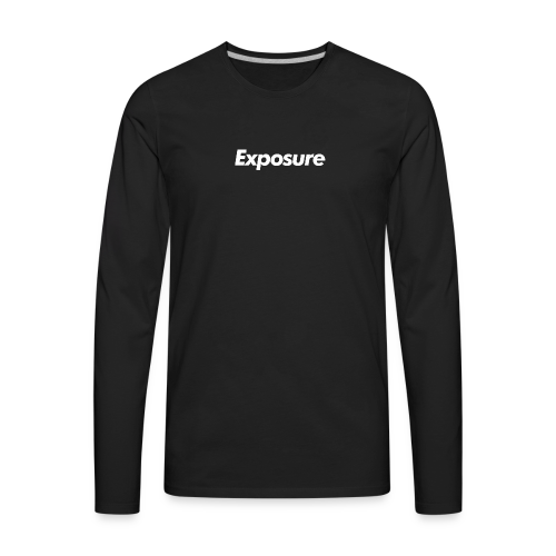 Exposure Long Sleeve - Men's Premium Long Sleeve T-Shirt