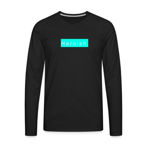 Harnish Logo - Men's Premium Long Sleeve T-Shirt