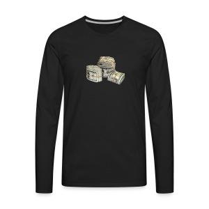 Rubberband Bank - Men's Premium Long Sleeve T-Shirt