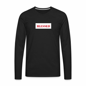 Blessed - Men's Premium Long Sleeve T-Shirt